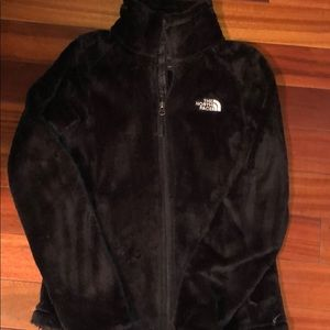 Furry North Face jacket